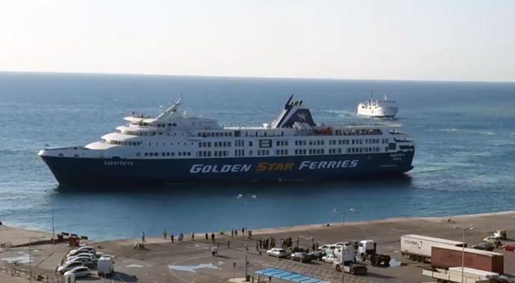 Golden Star Ferries: Συγκίνηση για το Superferry II, αλλά και μελλοντικά σχέδια