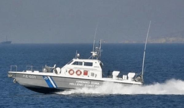 Μεταφορά ασθενούς covid19 με σκάφος του λιμενικού