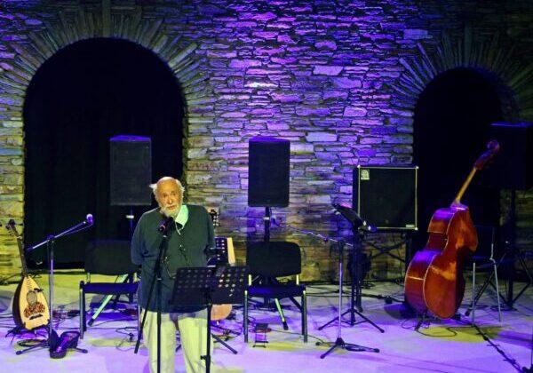 Παντελής Βούλγαρης: Είχαμε ανάγκη τις όμορφες βραδιές στο Ανοιχτό Θέατρο.
