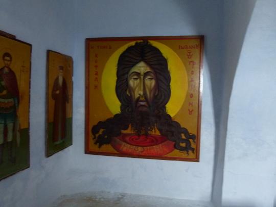 Η λατρεία του Άη Γιάννη του Νηστευτή, στους Αρβανίτες της Άνδρου