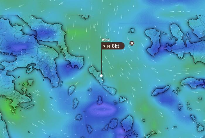 Επιδείνωση καιρού στην Περιφέρεια Νοτίου Αιγαίου-Π.Ε. Κυκλάδων