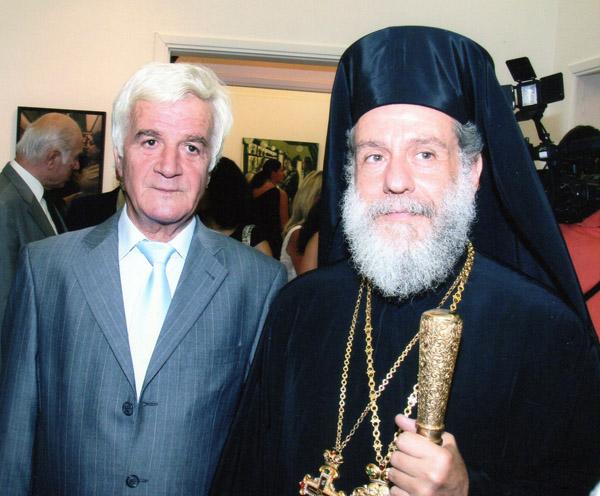 """Δωρόθεος Β: Με τον «Εμμανουήλ Βάμβουκα, Δημάρχου Άνδρου διατελέσαντος, με τον οποίο με συνέδεε μακρά, αδιατάρακτη και ανέφελη φιλία"""""""