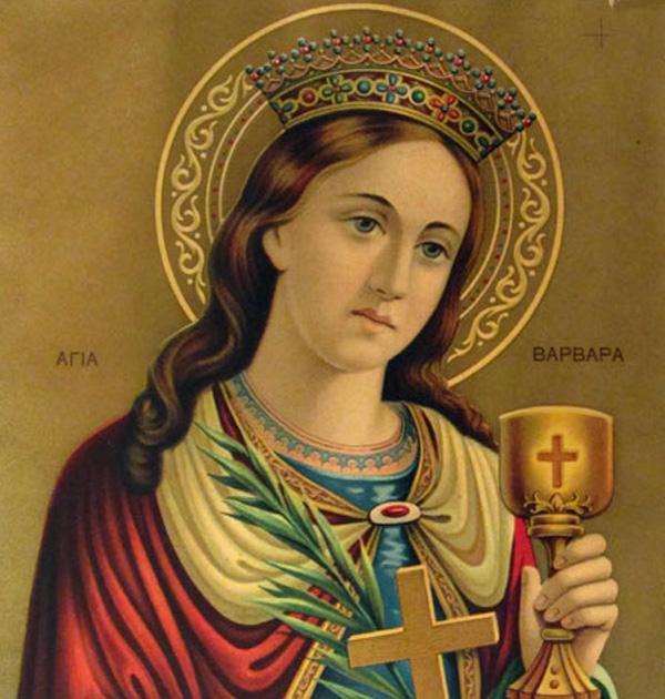 Kεκλεισμένων των θυρών, η Θεία Λειτουργία στο Καθολικό της Ι. Μ. Αγίας Βαρβάρας