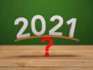New Year 2021 Creative Design Concept – 3D Rendered Image