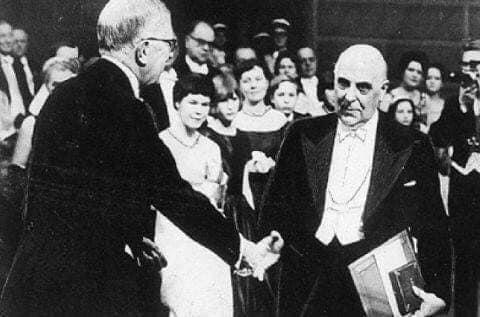 Σαν σήμερα 10.12.1963, ο Γιώργος Σεφέρης, το Νόμπελ, η Ελλάδα...