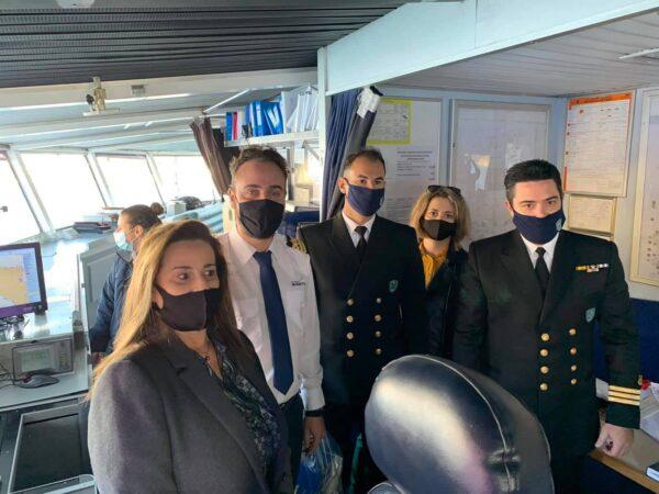 Στο Γαύριο το πρώτο πλοίο του 2021 και η μαρτυρία ενός τανκερίστα