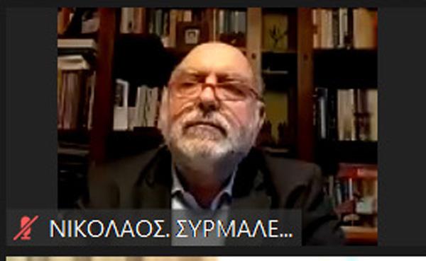 Ο Ν. Συρμαλένιος επισημαίνει για την απολογιστική συνεδρίαση του Δ.Α.