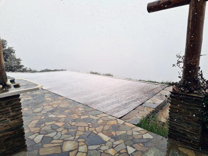 Το ανοιξιάτικο χιόνι στην Κουβάρα