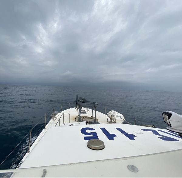 Στην Μυτιλήνη με την Frontex επιχειρεί το ΠΛΣ11 Άνδρου