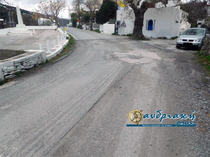 Συνεχίζονται τα έργα στην Μεσαριά, αλλά διακόπτεται η διέλευση ΙΧ