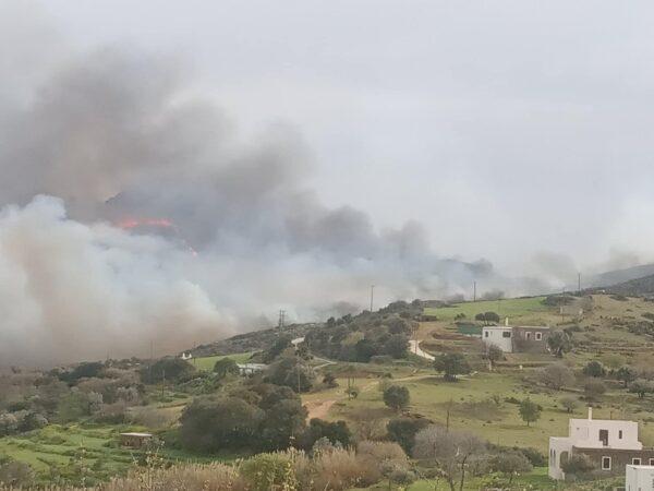 Αποζημιώσεις μετά την πυρκαγιά σε γεωργούς και κτηνοτρόφους