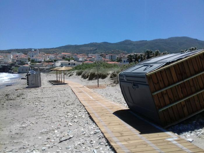 Το δελτίο τύπου για την αποκατάσταση των ζημιών σε Νειμποριό και Όρμο από τον Δήμο Άνδρου