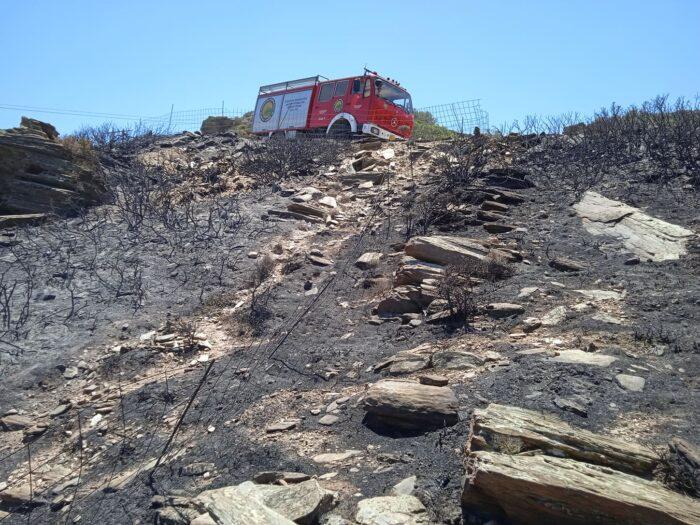 Η φωτιά στο Φραγκάκι