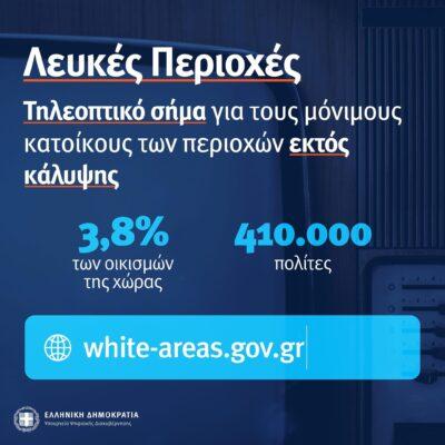 Οι λευκές περιοχές της Άνδρου, για την Digea στο gov.gr και ο Φ. Φόρτωμας