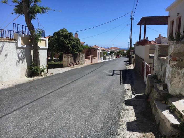 Συνεχίζονται και πάλι τα έργα ασφαλτόστρωσης στη Μεσαριά