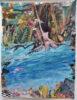 Λίνα Κουντουράκη, Στο ποτάμι, 39x30cm