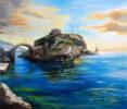 Μαριέττα Παπαγεωγρίου, Ancient Castle of Andros island