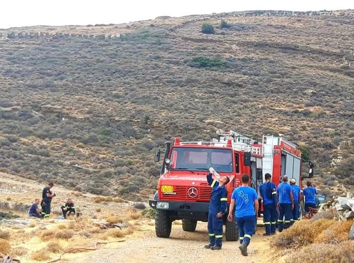 Ευχαριστήριο Δ. Λοτσάρη για την κατάσβεση της φωτιάς στο Ζαγανιάρι