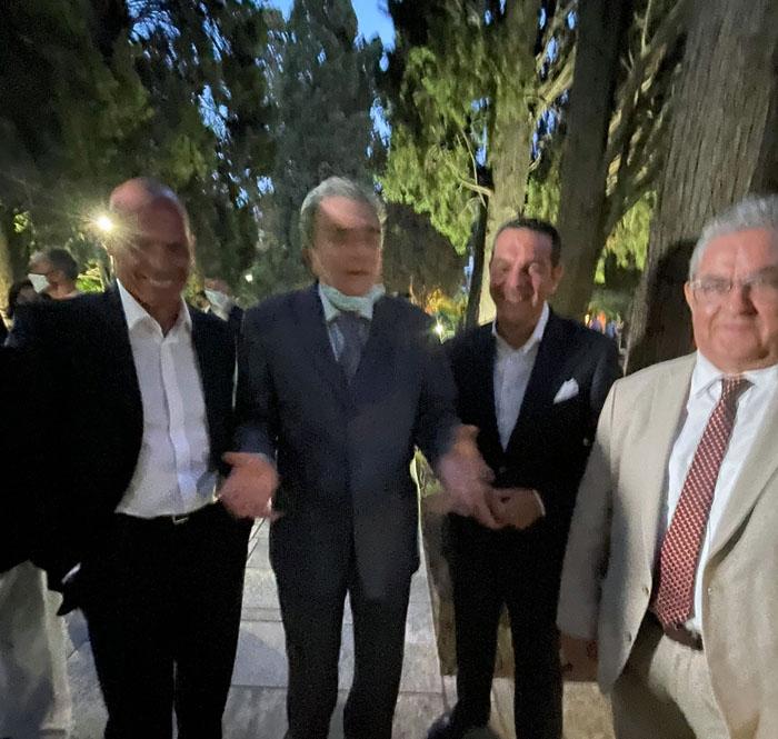 Ο Γιώργος Δαρδανός στο Προεδρικό Μέγαρο