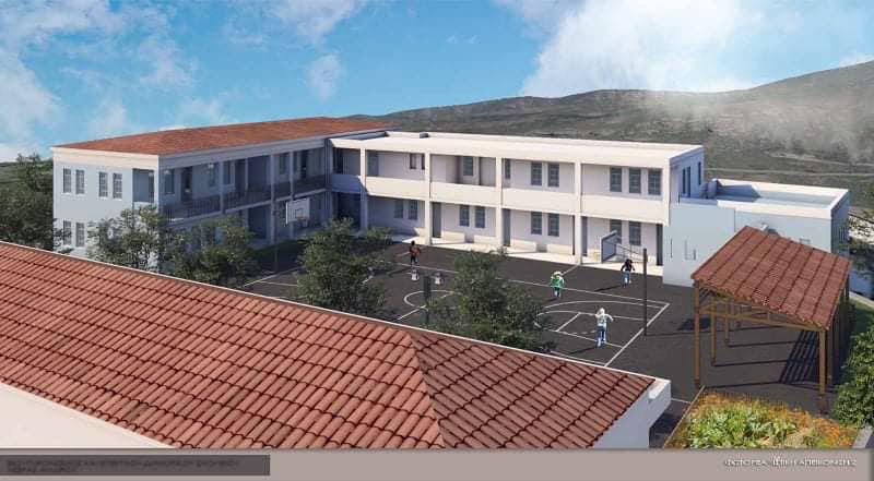 Εκσυγχρονισμός και επέκταση του Δημοτικού Σχολείου Χώρας Άνδρου