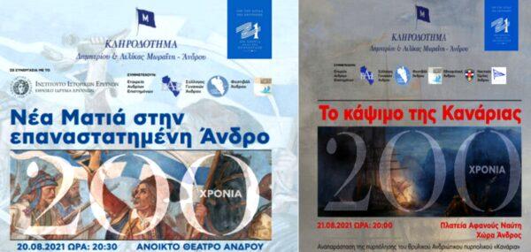 Το Κληροδότημα Δ.&Λ. Μωραΐτη και ο πρόεδρός του Νίκος Σιγάλας στον ραδιοφωνικό αέρα της Άνδρου