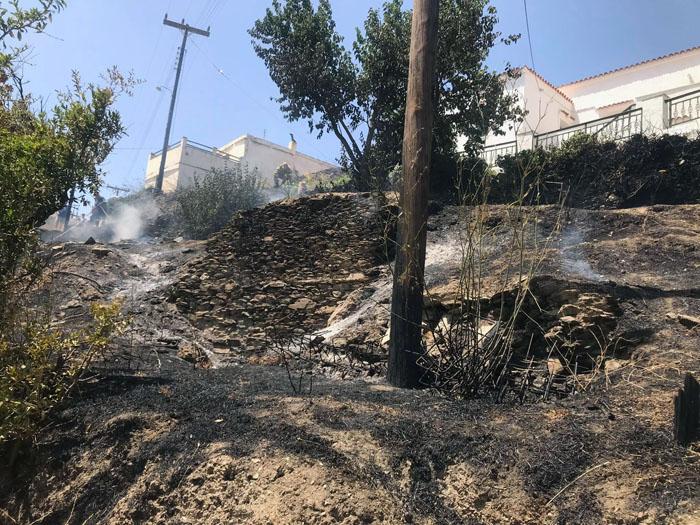 Έσβησε η φωτιά στο Γιαννισαίο
