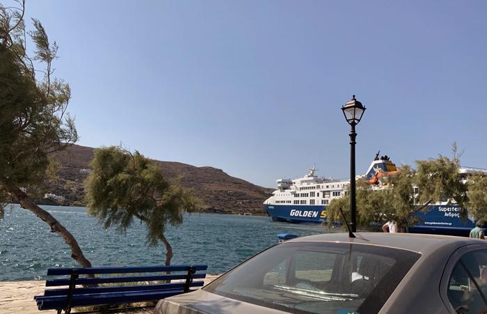 Σε επίπεδα 2019 η τουριστική κίνηση στο νησί.