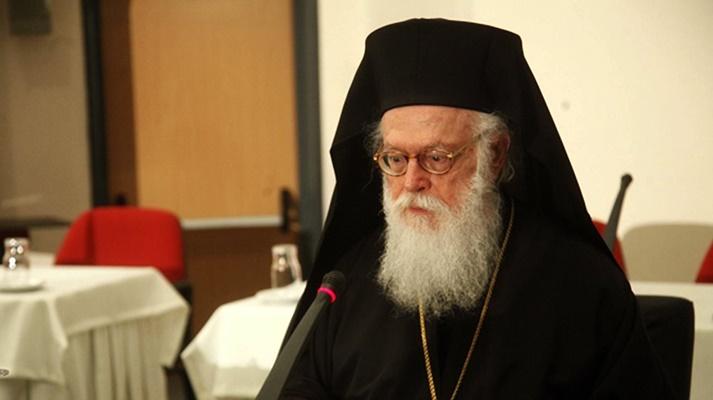 Ο Αρχιεπίσκοπος Αλβανίας Αναστάσιος αποχαιρέτισε τον Γιάννη Παλαιοκρασσά